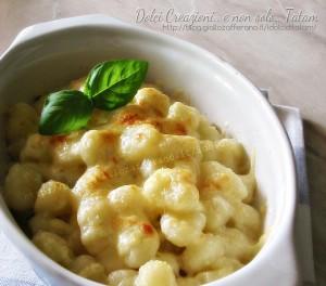 Gnocchi di patate filanti gratinati al forno 2a