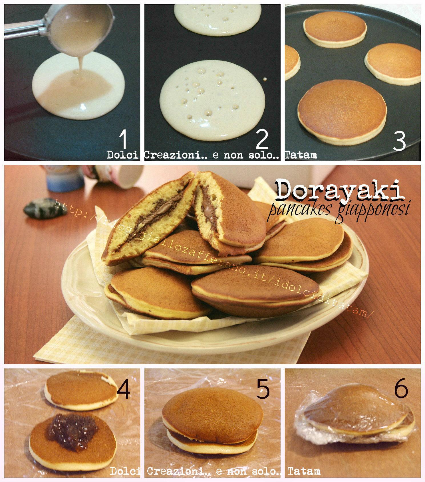 Dorayaki pancakes giapponesi 1aa
