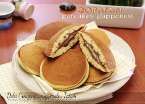 Dorayaki pancakes giapponesi