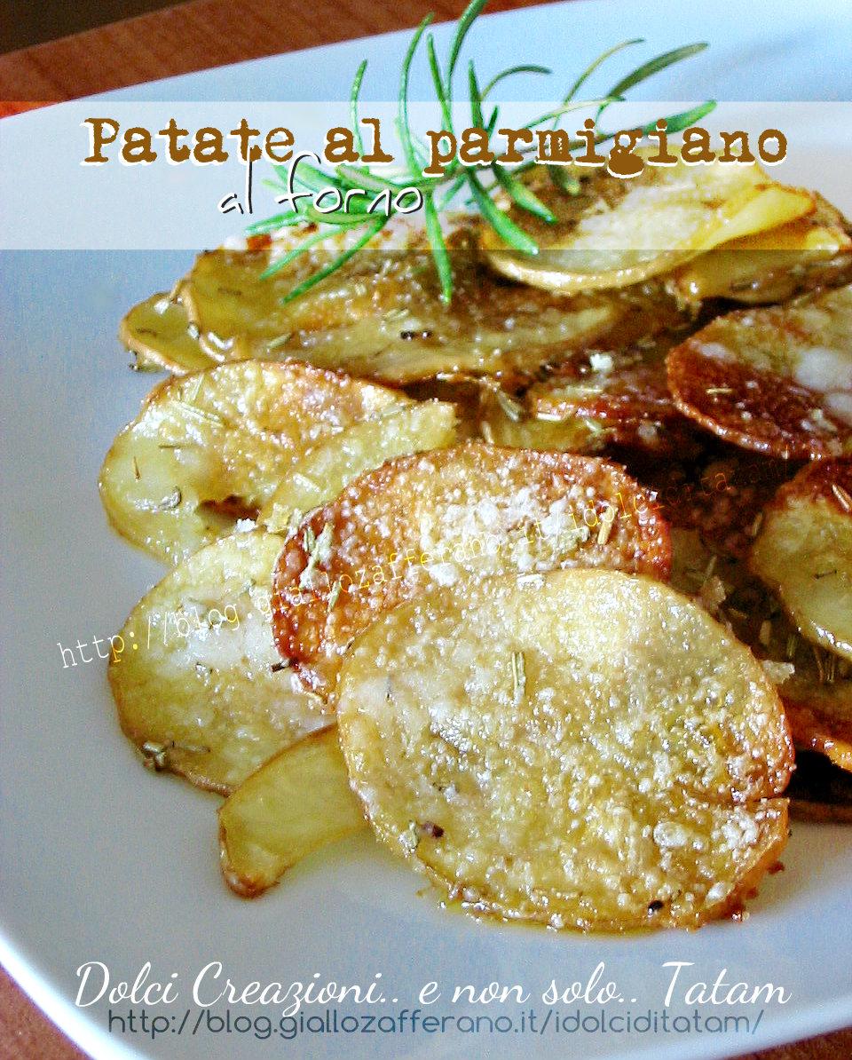 Patate al parmigiano al forno