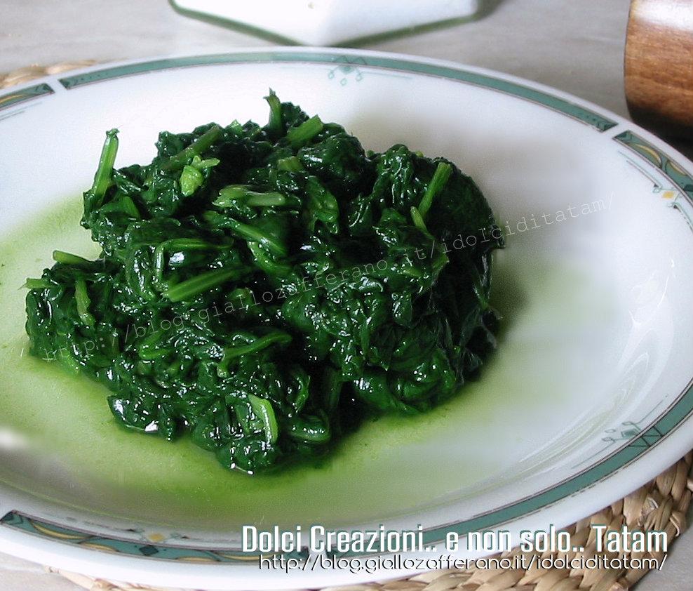 Spinaci al limone come cuocere gli spinaci for Cucinare spinaci