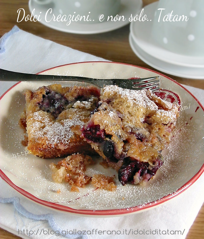 Torta pasticcio di ciliegie fresche 1