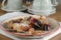 Torta pasticcio di ciliegie fresche