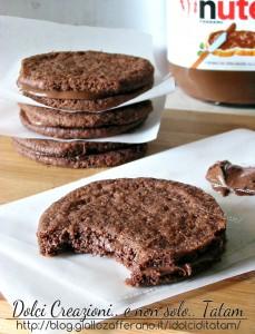 Biscotti Sandwich alla Nutella 1