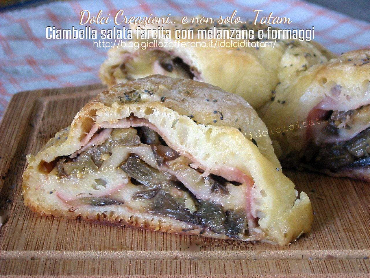 Ciambella salata farcita