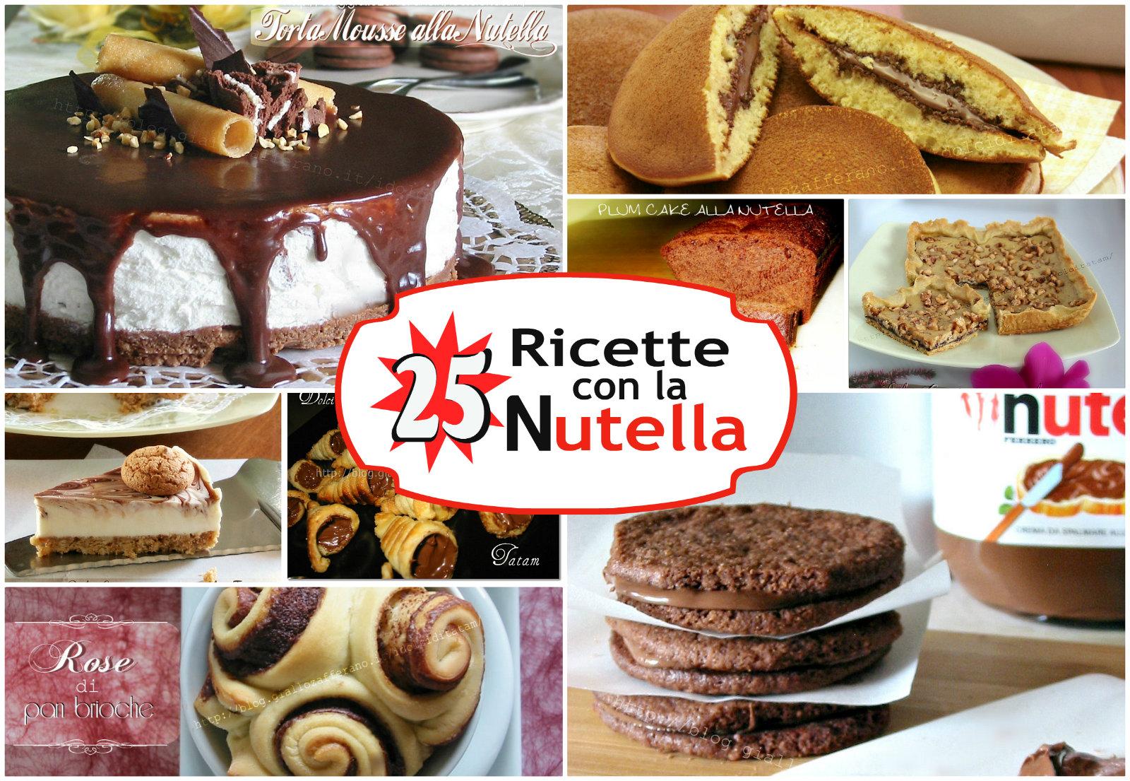 25 Ricette con la Nutella