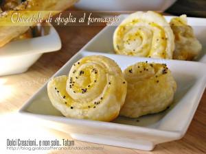 Chiocciole di sfoglia al formaggio 1