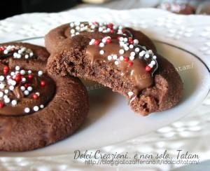 Biscotti farciti alla Nutella 2