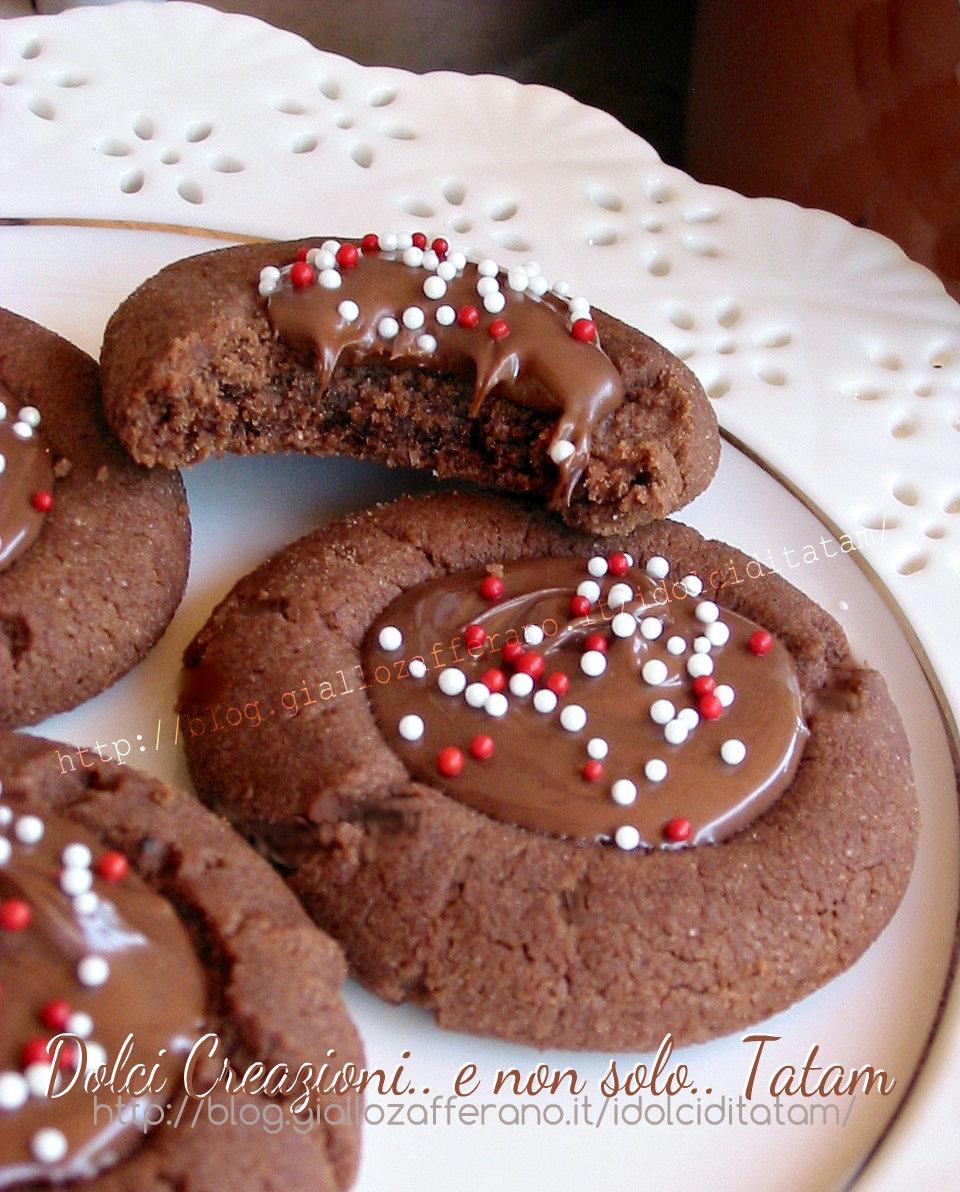 Biscotti al cioccolato nutella