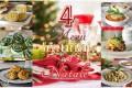 4 Menu' vegetariani per il pranzo di Natale