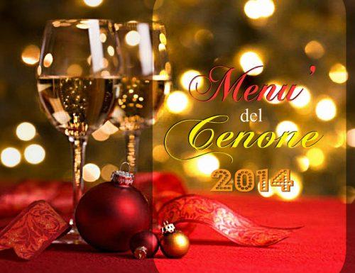 Menu del cenone di San Silvestro 2014