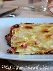 Millefoglie di patate e besciamella 1