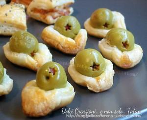 Salatini di sfoglia alle olive