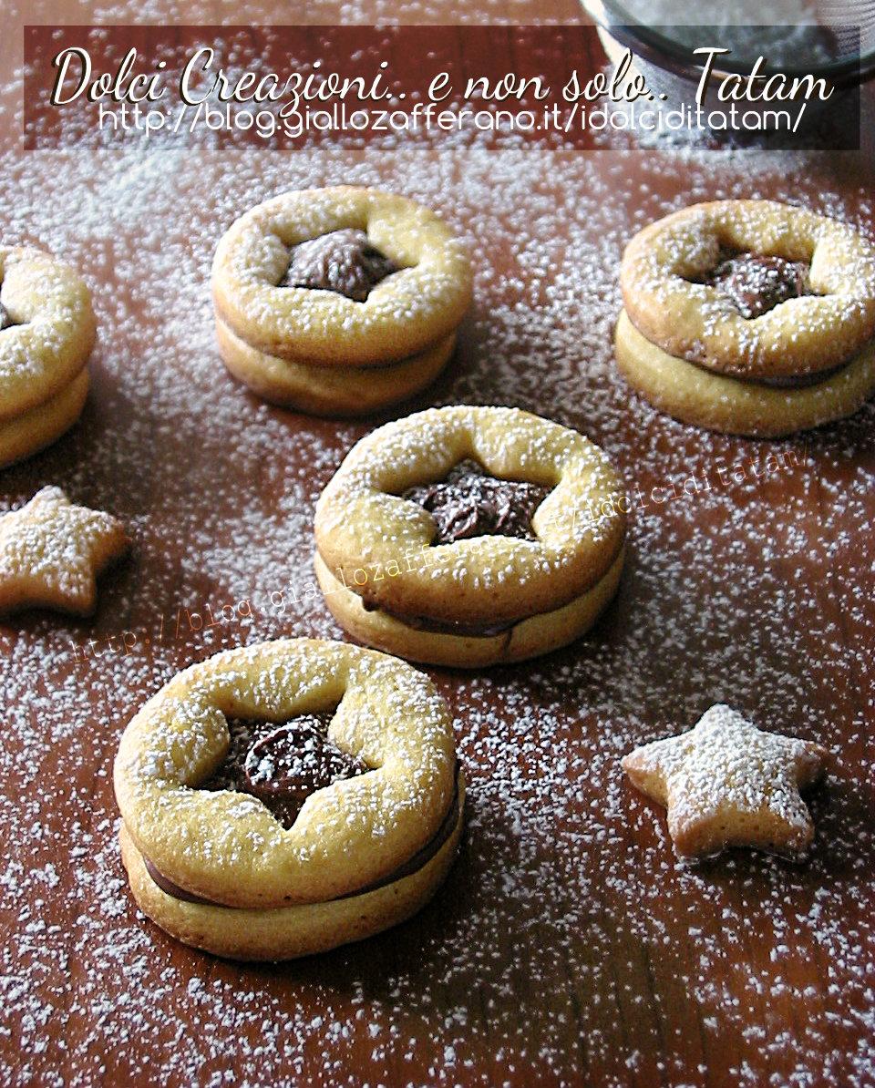 Biscotti frollini alla Nutella 1