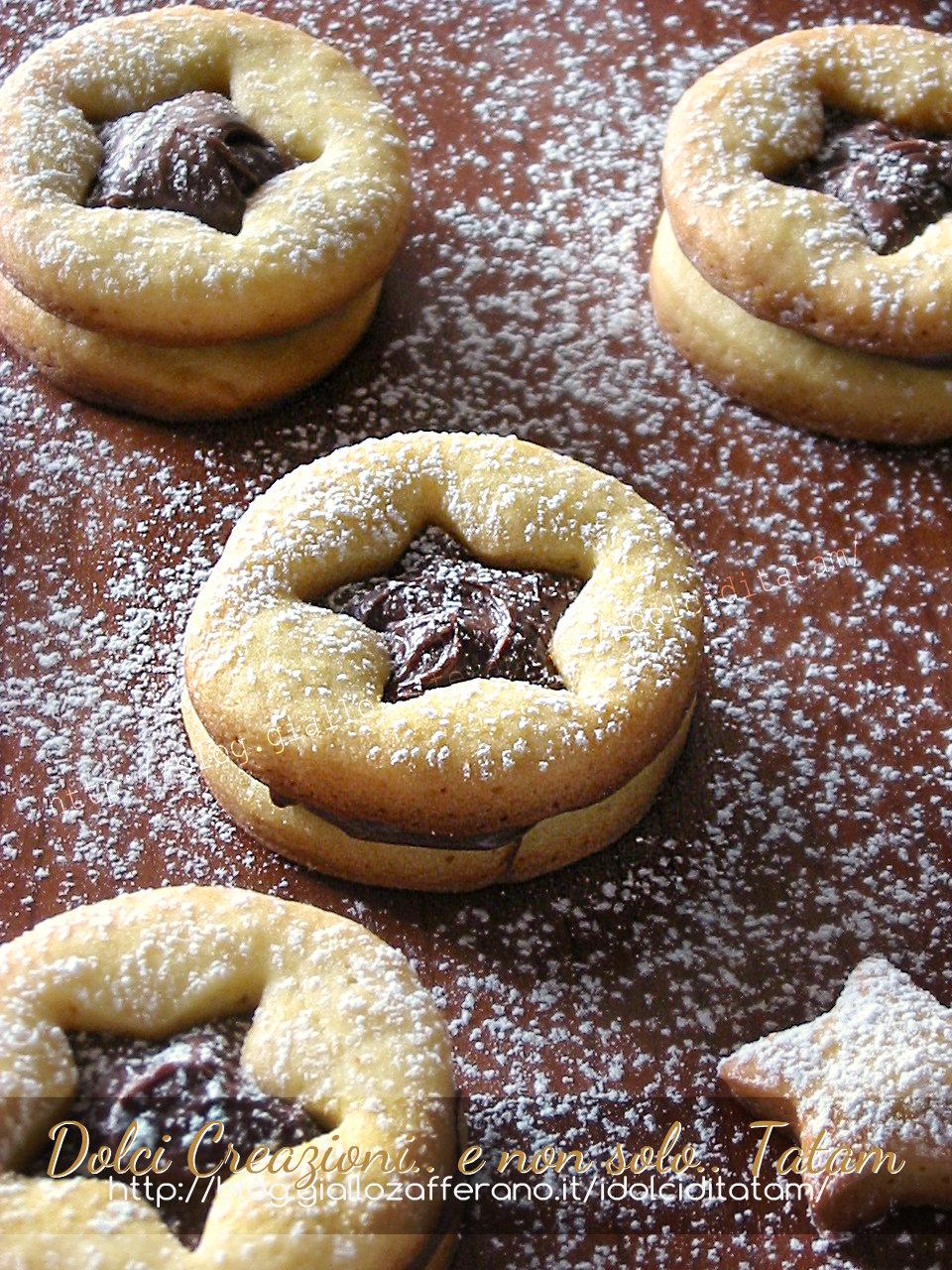 Biscotti frollini alla Nutella 2