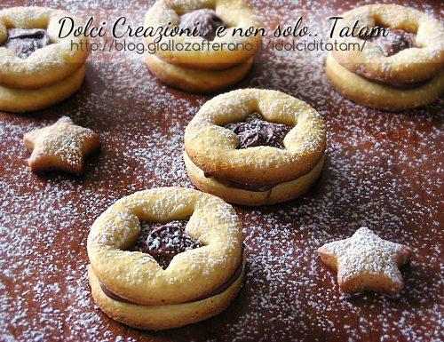 Biscotti frollini alla Nutella