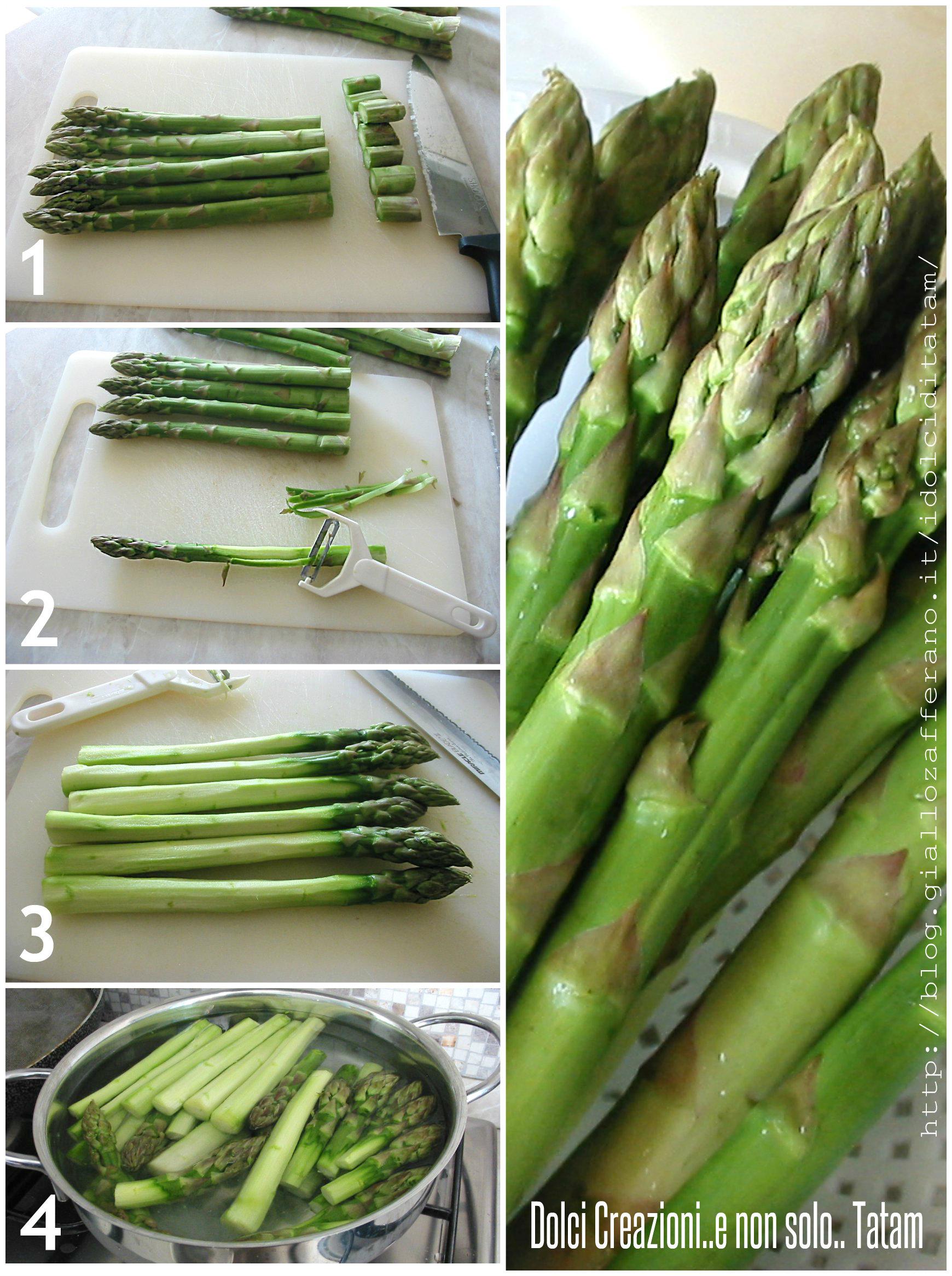 Come cucinare gli asparagi lessi nel modo ... - Primo Chef