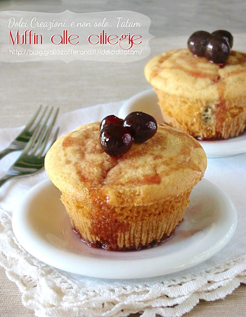 Muffin alle ciliegie 2a