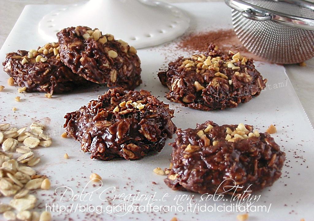 Biscotti alla nutella senza cottura | dolci freddi