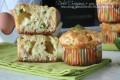 Muffin focaccia con zucchine e scamorza