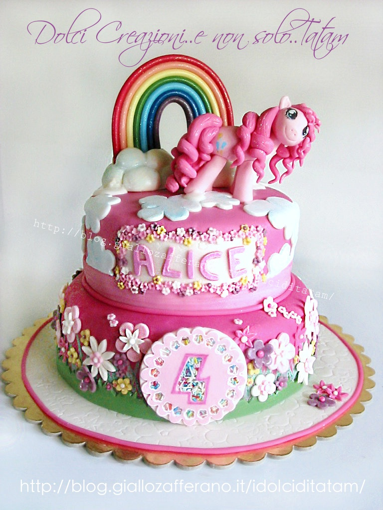 Torta decorata My Little Pony3