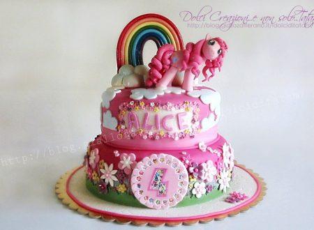 Torta decorata My Little Pony