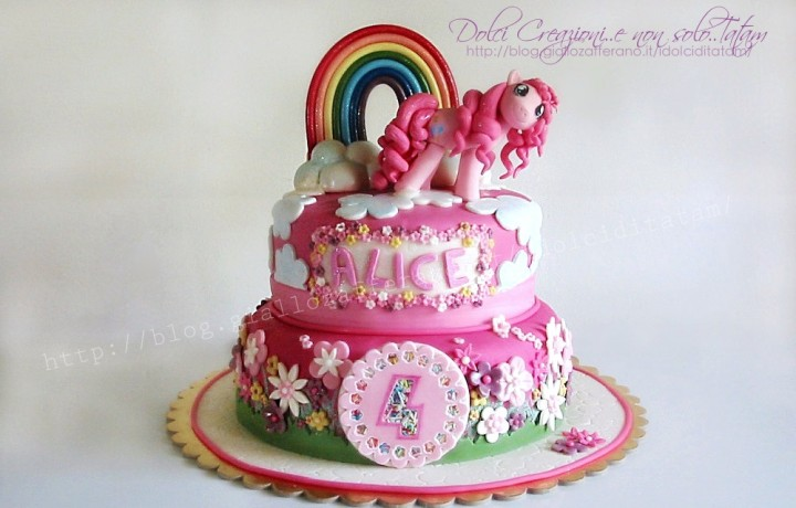 Torta decorata My Little Pony