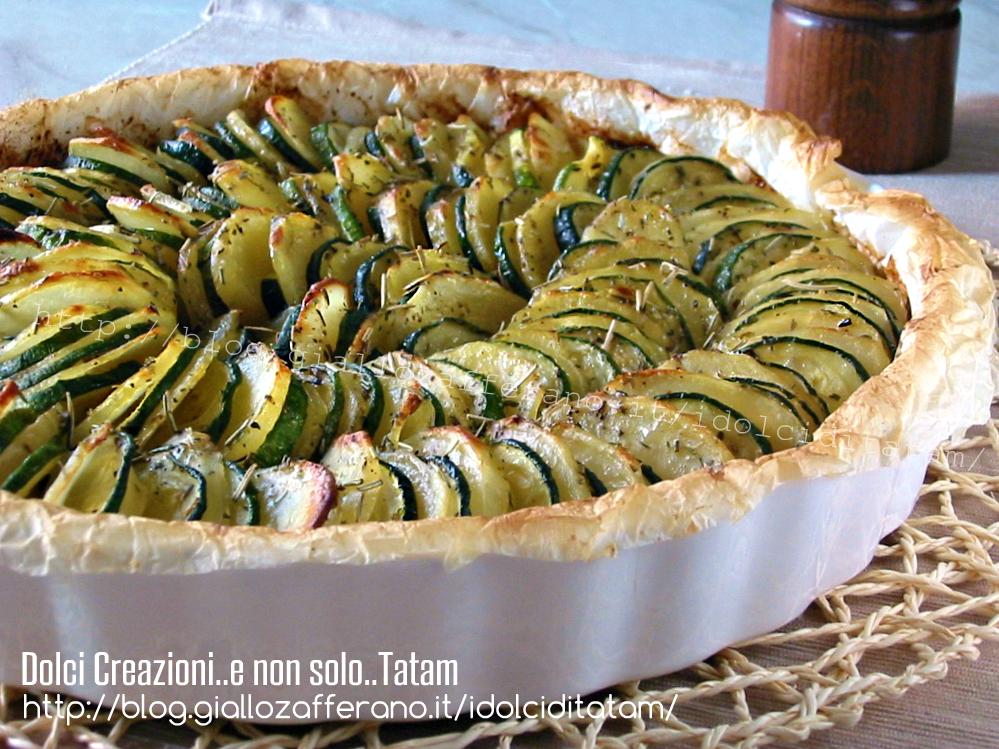 Teglia di zucchine e patate agli aromi2