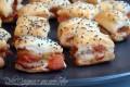 Salatini rustici al salmone affumicato