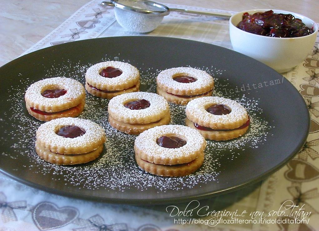 Biscotti Occhio Di Bue Ricetta Facile Senza Uova