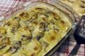 Pasticcio di patate e funghi