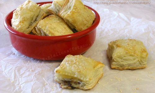 Salatini con crema tartufo e asiago