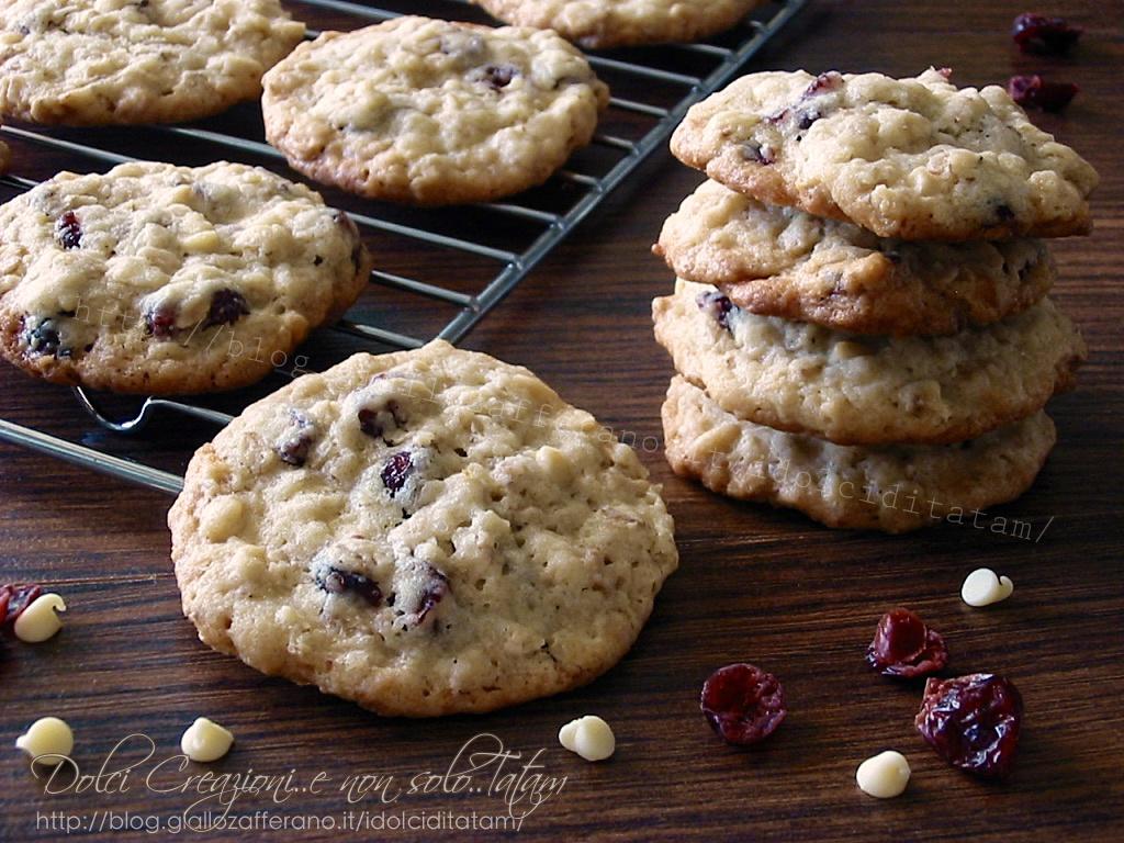 Biscotti con mirtilli rossi