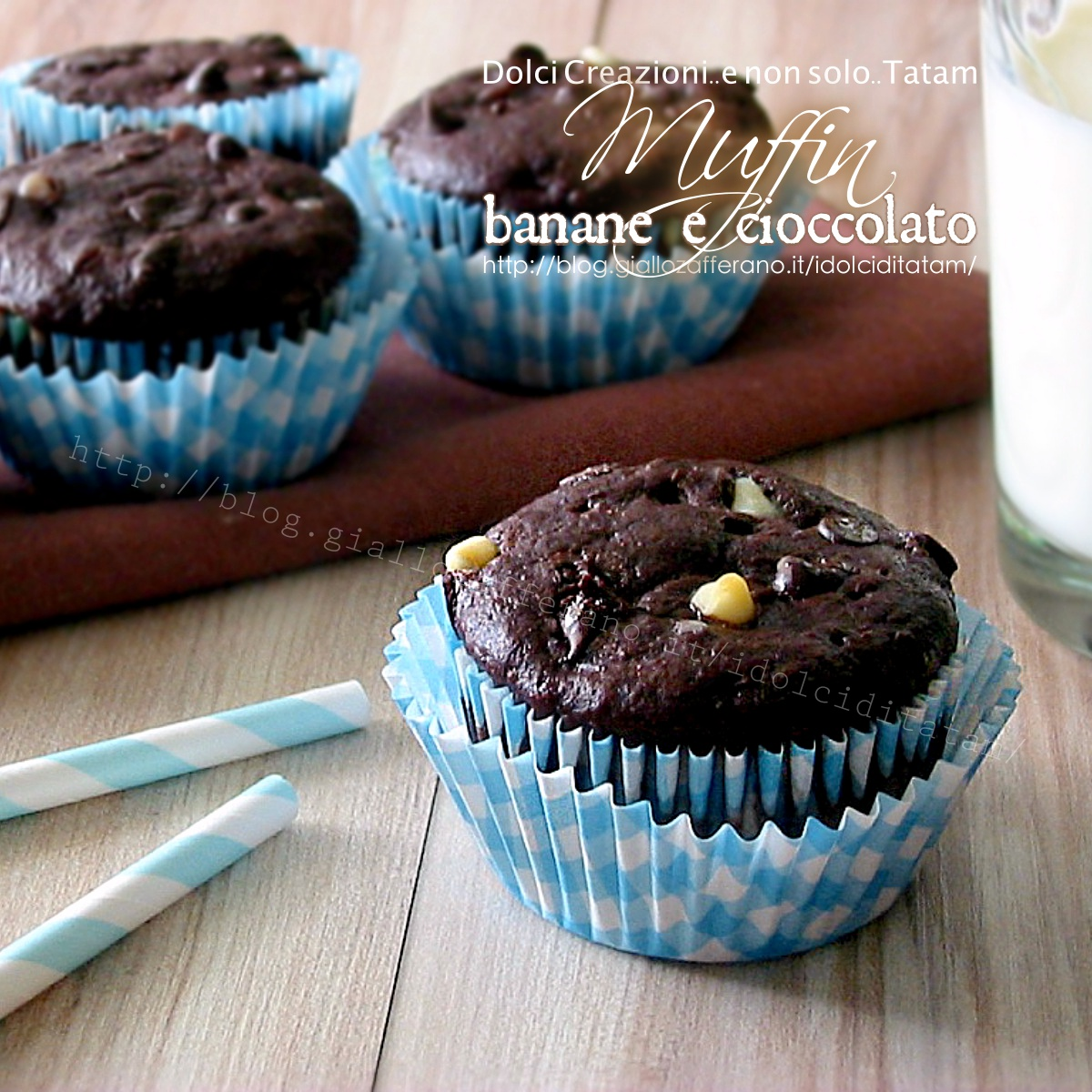 Muffin banane e cioccolato1200