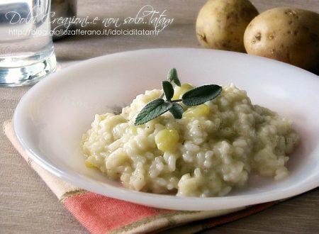 Risotto con le patate, ricetta facile, comfort food
