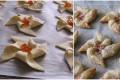 Girandole dolci di pasta sfoglia con passo passo