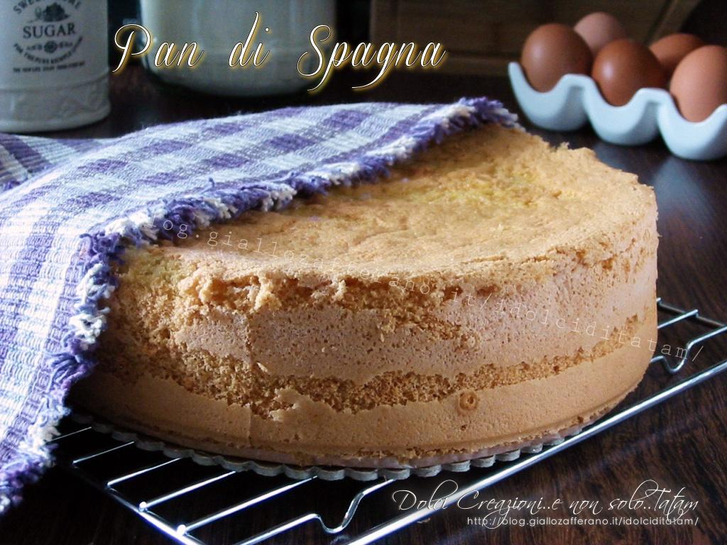 Pan di Spagna alto e soffice, ricetta base senza lievito