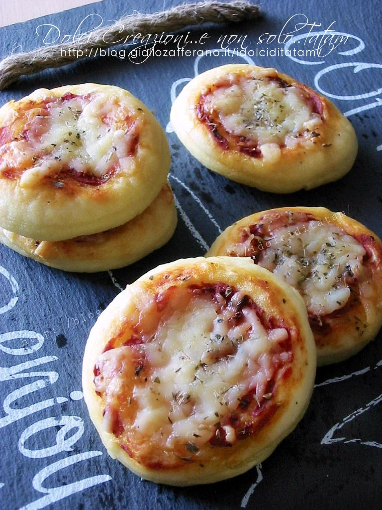 Pizzette snack da buffet