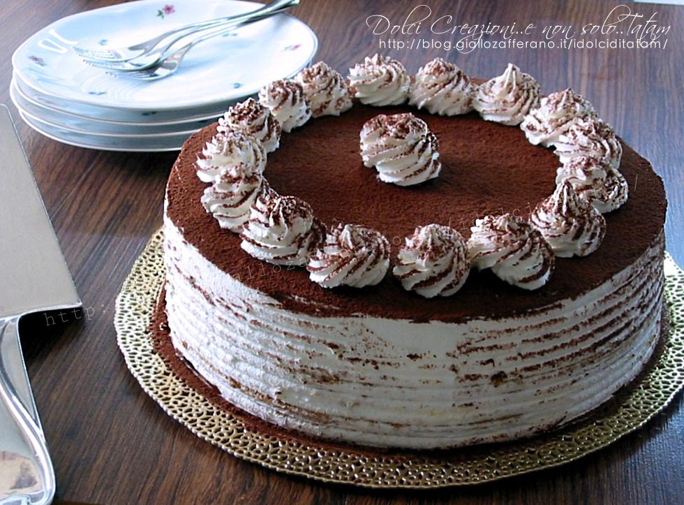 Torta Tiramisu' senza uova crude - con video ricetta