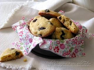 Biscotti con farina di mais e uvetta2