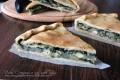Erbazzone vegetariano, torta salata senza lievito