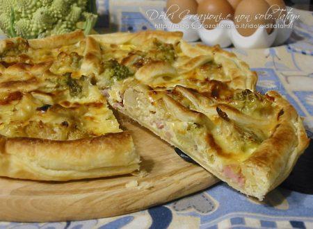 Quiche con broccoli e pancetta, torta salata