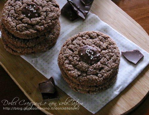 Biscotti al cioccolato al latte, golosi e facili