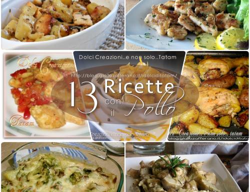 13 Ricette con il Pollo, raccolta ricette semplici