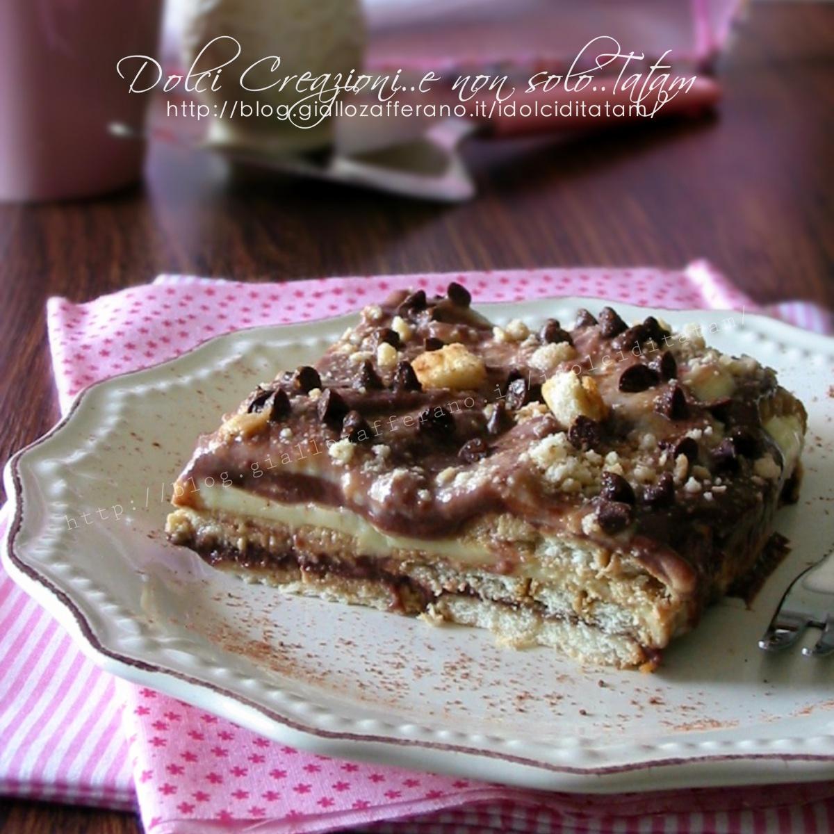Bien connu Dolce veloce con biscotti e budino, vaniglia e cioccolato NL35