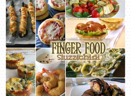 Finger food e stuzzichini, raccolta di ricette