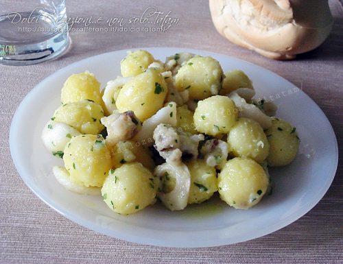 Seppie con patate in insalata, al limone. Ricetta facile e veloce