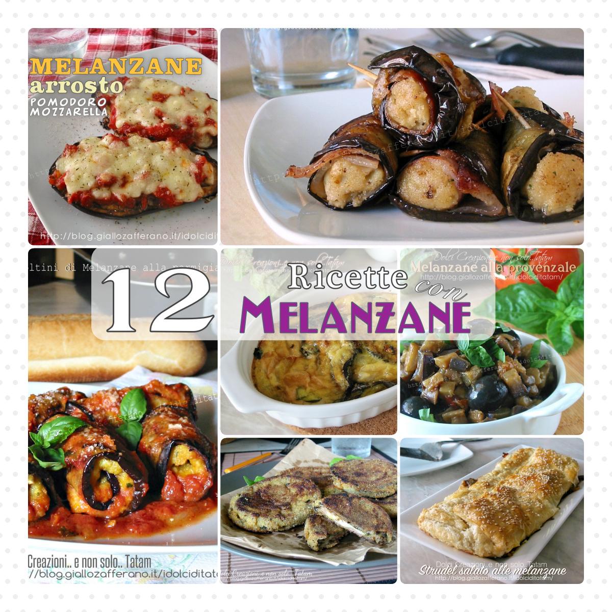 12 ricette con melanzane