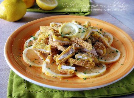 Cotolette di pollo al limone e paprica piccante