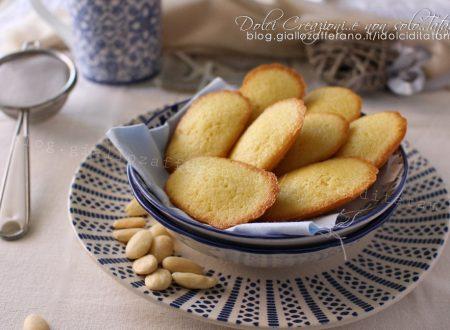Madeleine alle mandorle, la ricetta dei biscotti tipici francesi